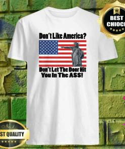 Don't Like America Don't Let The Door T-Shirt