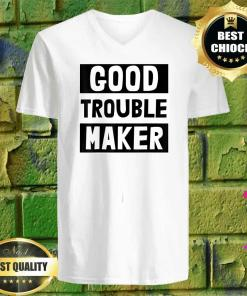 Get In Good Necessary Trouble Civil Rights Social Justice v neck