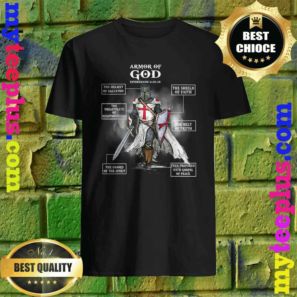 Armor Of God Bible Verse Cool Gift For Religious Christian T-Shirt