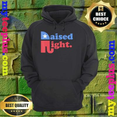 Raised Right Republican Elephant Retro Style Distressed Gift hoodie