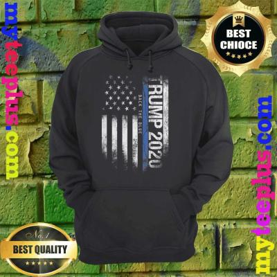 Trump Back The Blue Pro Trump Thin Blue Line hoodie