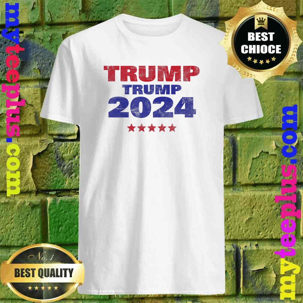 Trump Trump 2024 Don Jr and Eric Trump for President GOP T-Shirt