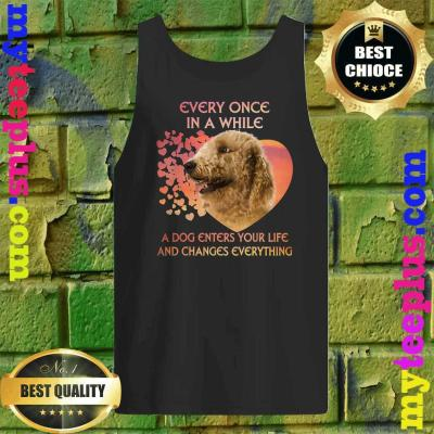 Every Once In A While A Dog Enters Your Life Goldendoodle Tank top