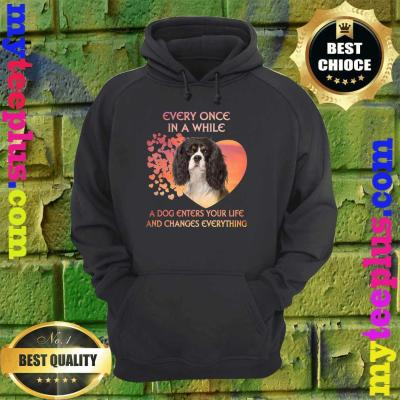Every Once In A While Cavalier King Charles Spaniels hoodie