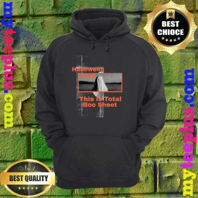 Funny Halloween 2020 This is Total Boo Sheet hoodie