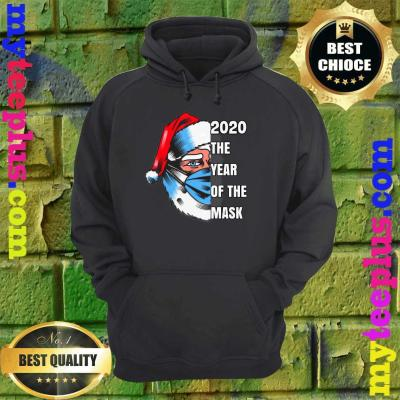 Funny Santa,'2020 the year of the mask' Classic hoodie