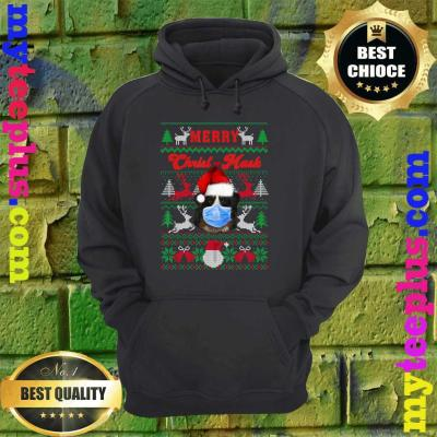 Greater Swiss Mountain Merry Christ-Mask Ugly Xmas Sweaters hoodie