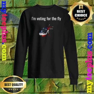 I'm Voting for the Fly 2020 Vice Presidential Debate Pence Sweatshirt