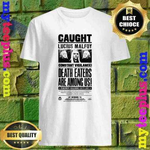 Kids Harry Potter Lucius Malfoy Caught Poster T-Shirt