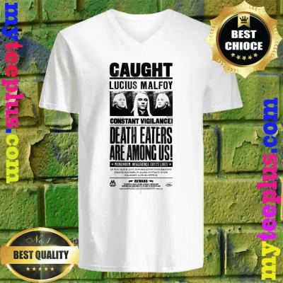 Kids Harry Potter Lucius Malfoy Caught Poster v neck