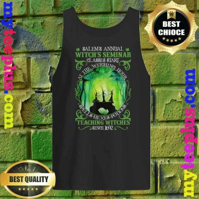 Salems Annual Witchs Seminar Witchcraft Halloween Costume tank top