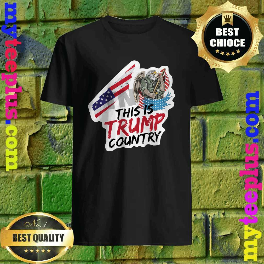 Trump Country Supporter Tennessee Political Shirt