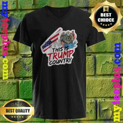 Trump Country Supporter Tennessee Political v neck