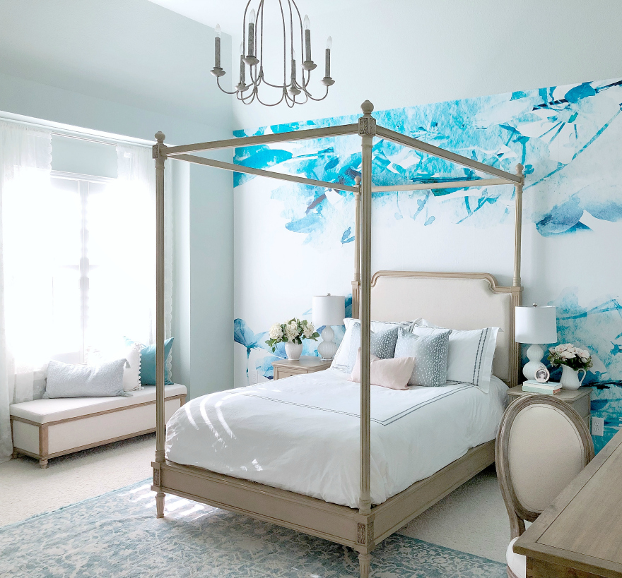 Sophisticated Teen Room Makeover - My Texas House on A Teen Room  id=79792