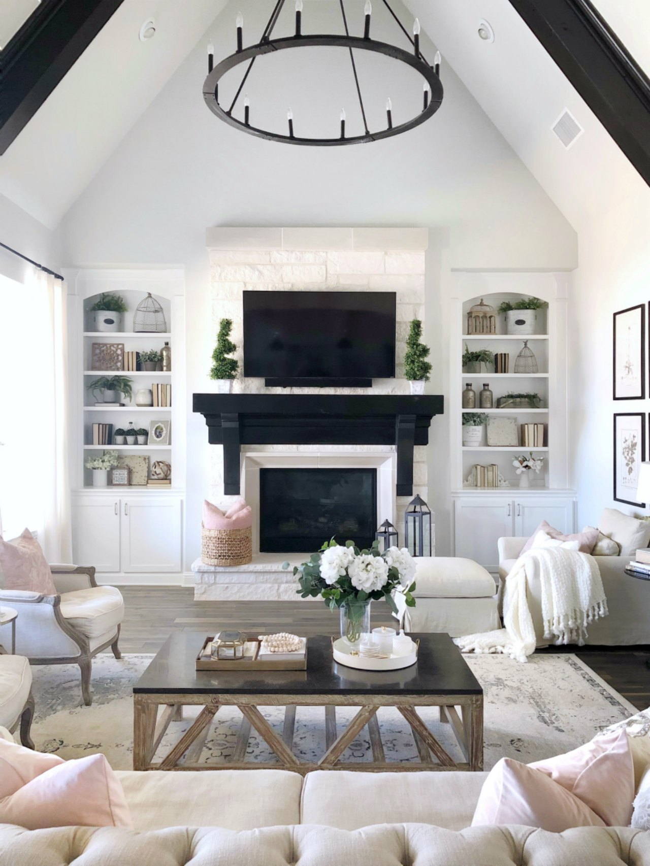 Kitchen And Living Room Tour Amp Sources My Texas House