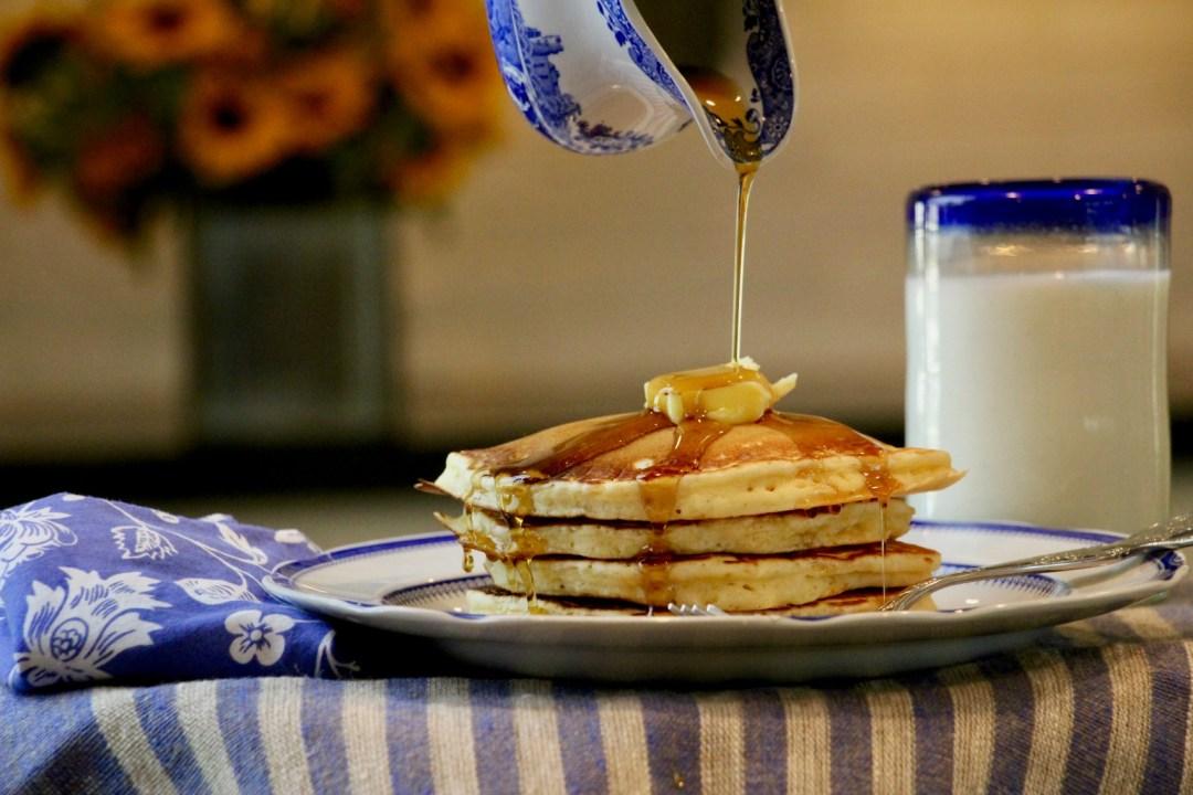 pancakes, comfort food