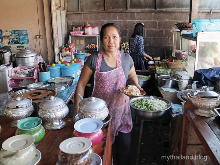 An Isaan Kitchen in Thailand