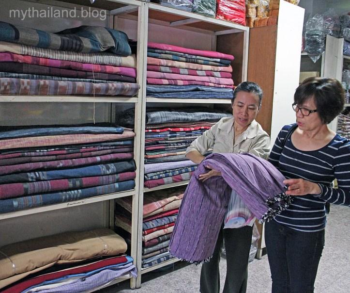 Fabric Shopping in Chiang Mai
