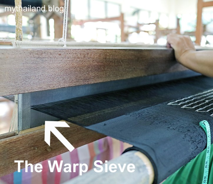 Hand weaving in Thailand.