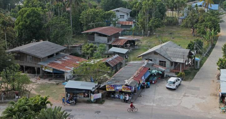 Silk country. A small village in Esaan-Northeastern Thailand