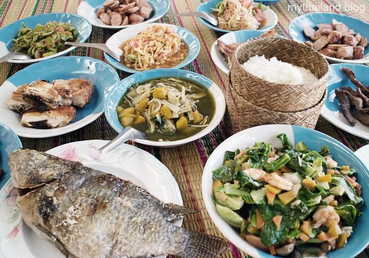 Thai Food in Isan