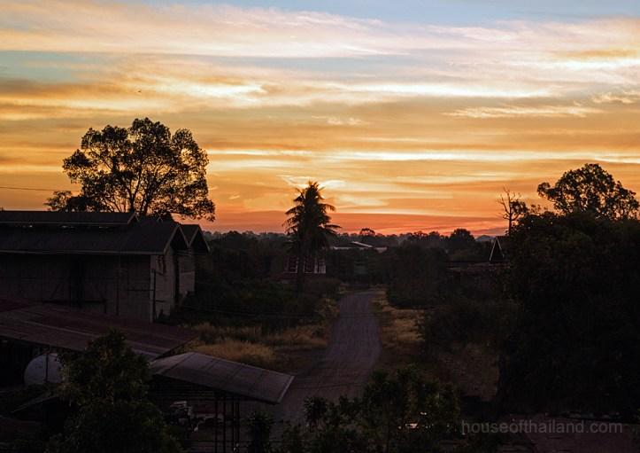 Sunrise in Esaan, Thailand