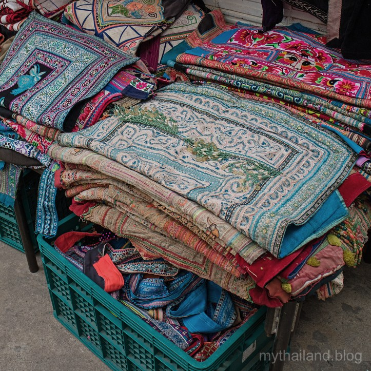 Worn Hill Tribe fabrics