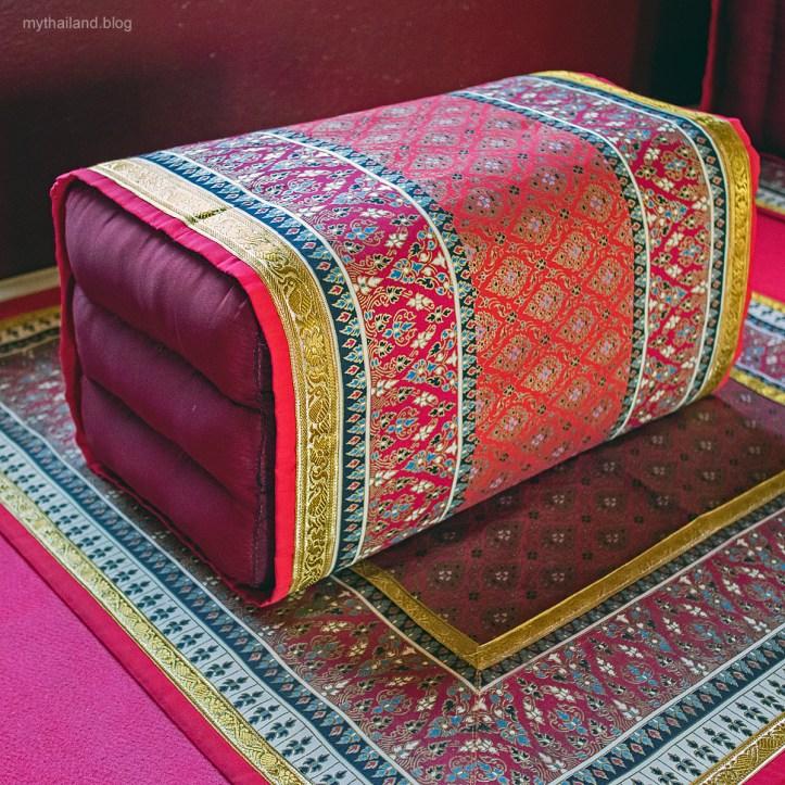 Thai Temple Pillow