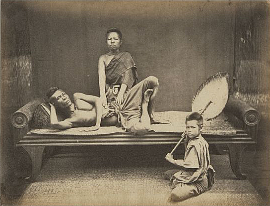 Thai Pillow Historical Photo