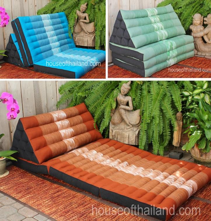 Chom Thong Folding Pillows