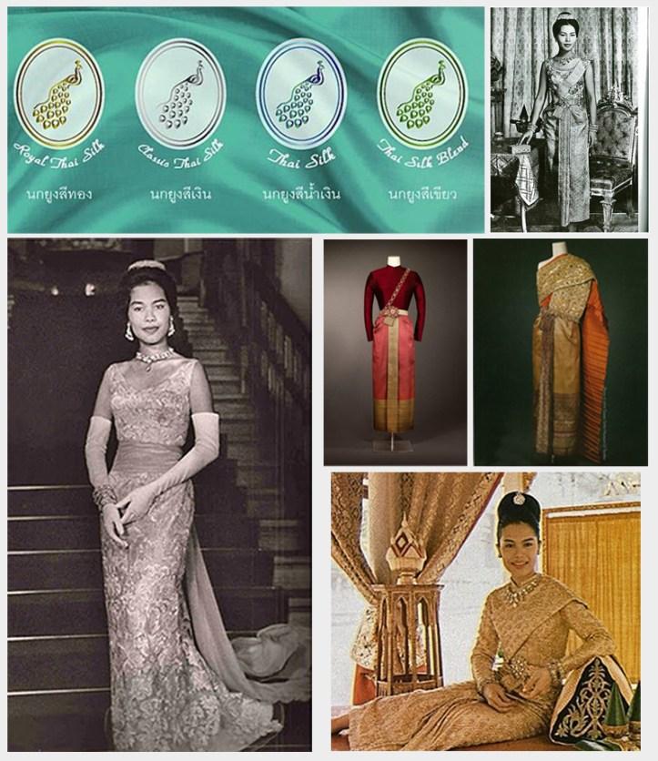 Queen Sirikit Thai Silk Dresses