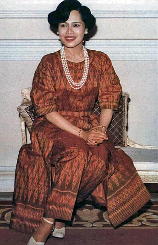 Queen Sirikit Mudmee Thai Silk