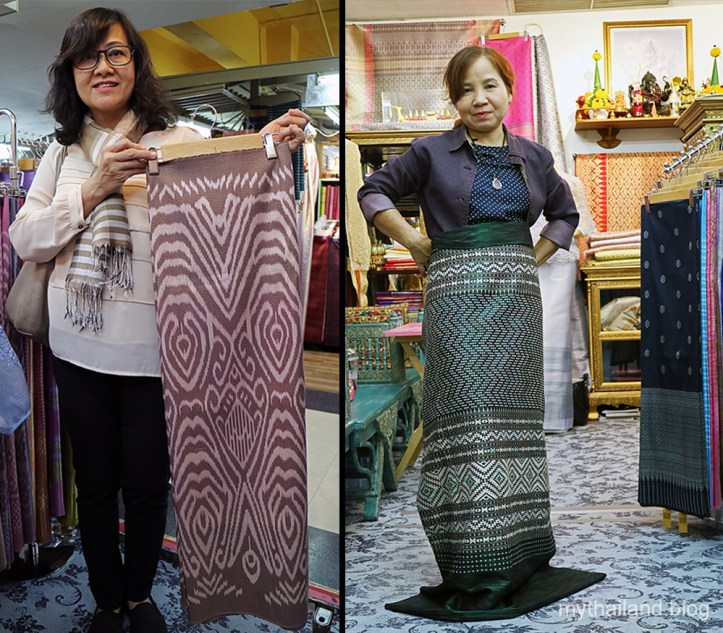Shopping for Thai silk