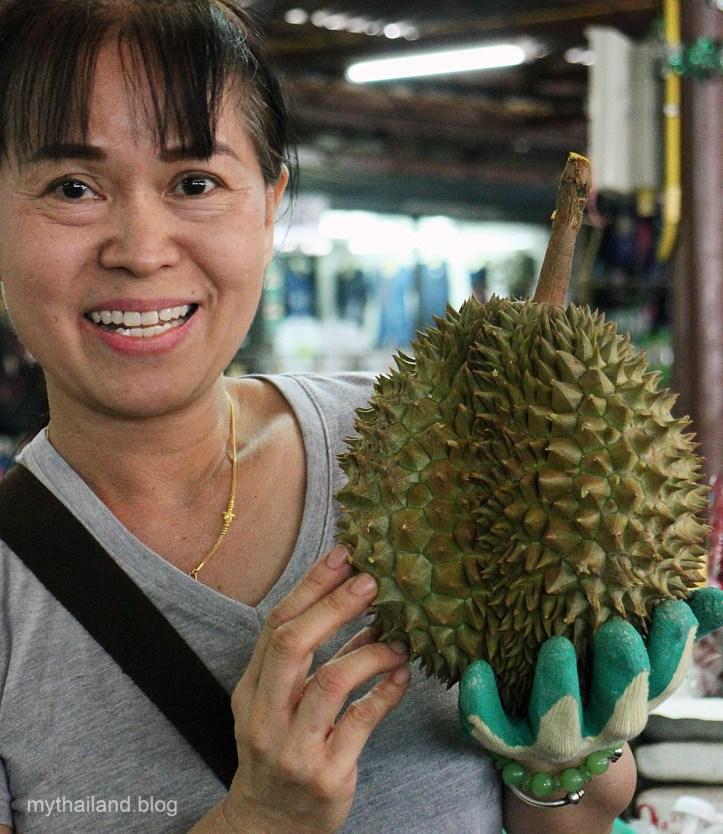 Chiang Mai durian.