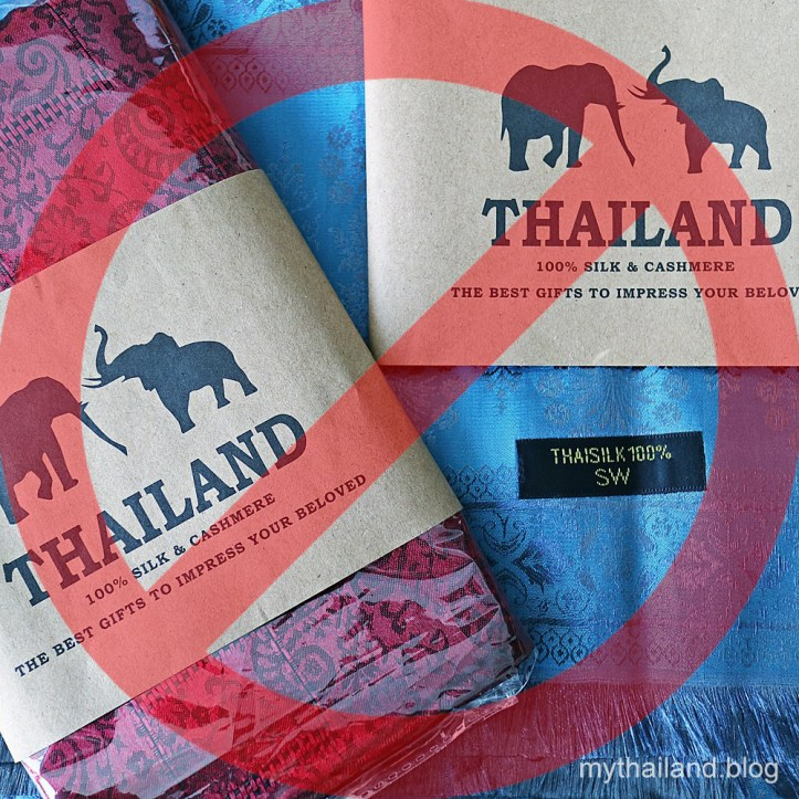 Fake Thai Silk Scarves will easily pull through a wedding ring.
