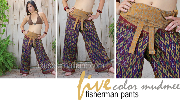 Mudmee Fisherman Pants