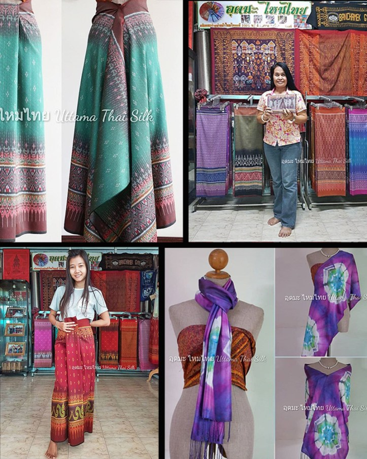 Uttama Thai silk shop in Surin