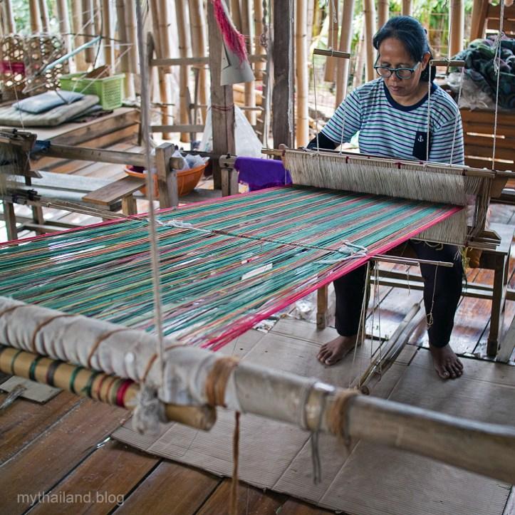 Handweaving in Sukhothai Province