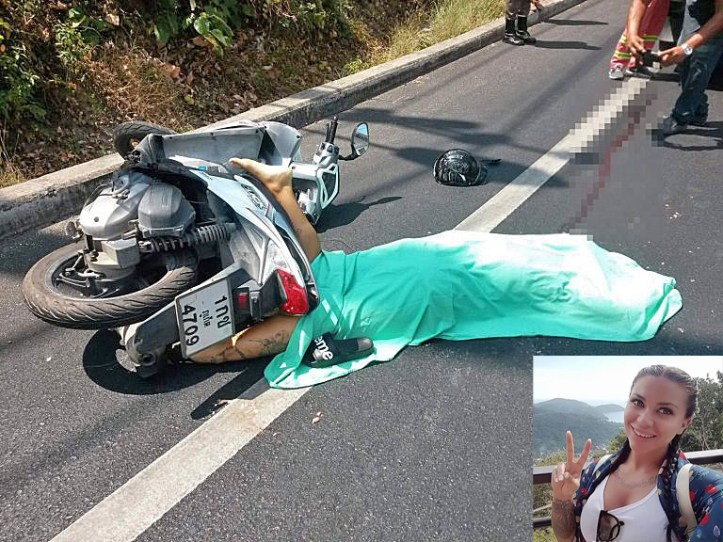 Motor scooter deaths in Thailand