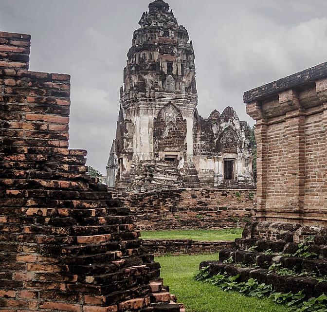 Khmer Ruins in Lopburi, Thailand