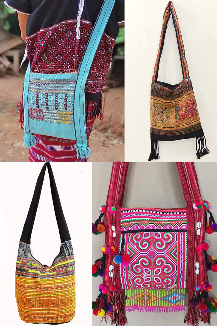 Hill tribe purses yaams