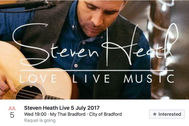 Steven Heath Live 5 July 2017