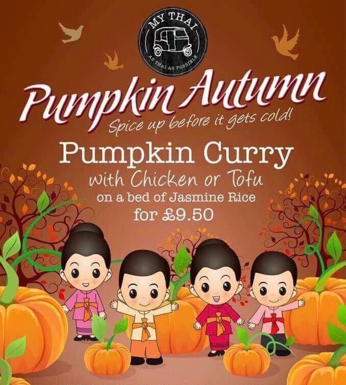 My Thai Restaurant Autumn Promo
