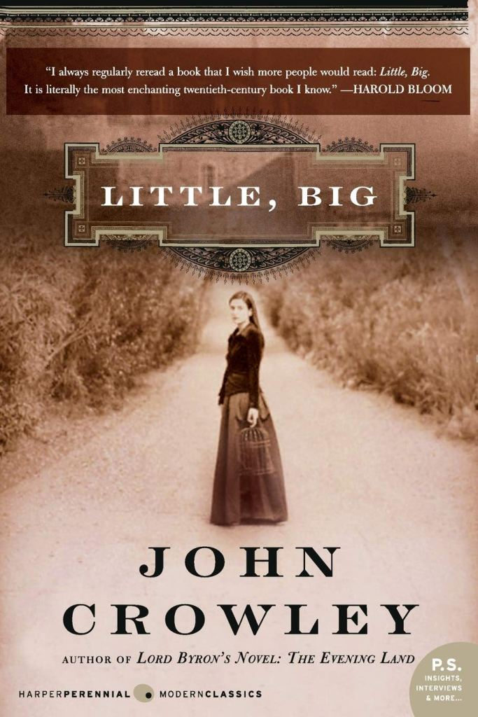 The cover of Little Big by John Crowley