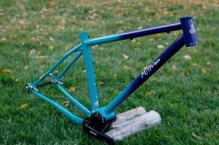 Turquoise & Indigo Bi-color