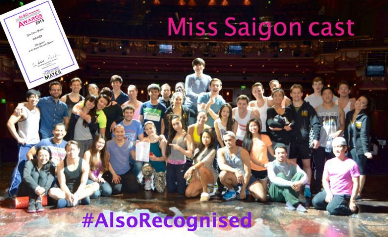 It's a team effort to reproduce an award-winning Show Trailer: as the Miss Saigon cast know