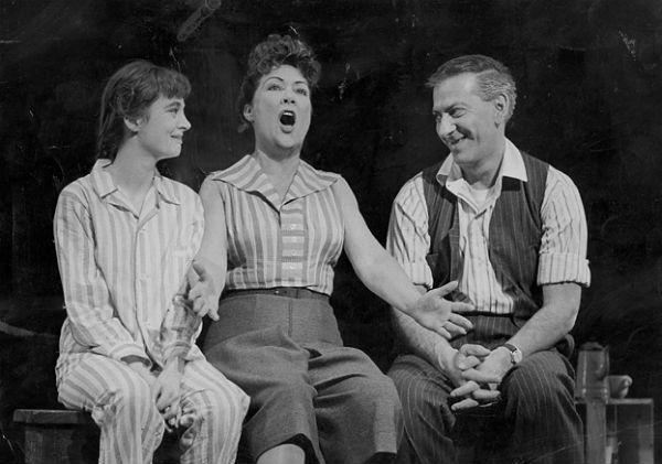 Ethel Merman originate the role of Momma Rose in Gypsy in 1959