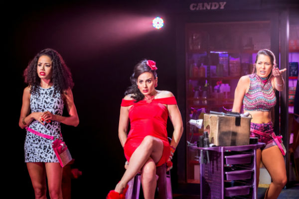 Jocasta Almgill, Victoria Hamilton Barritt and Jade Ewen in In the Heights