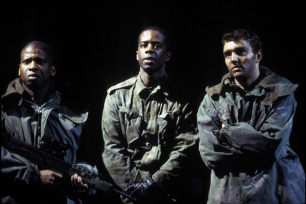 Adrian Lester as Henry V at the National Theatre in 2003