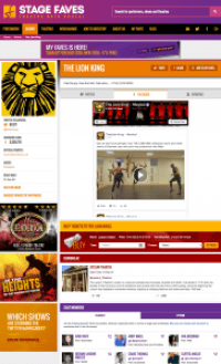 Get all social feeds for The Lion King and its cast on www.stagefaves.com